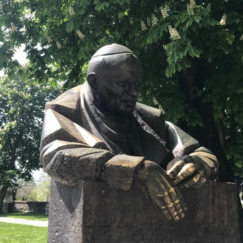 Denkmal Johannes Paul II