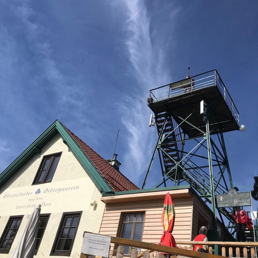 Proksch Hütte am Pfaffstättner Kogel
