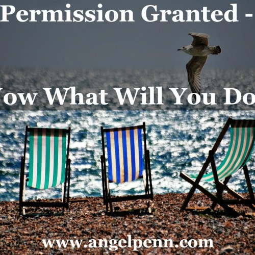 Permission granted - Now what will you do?