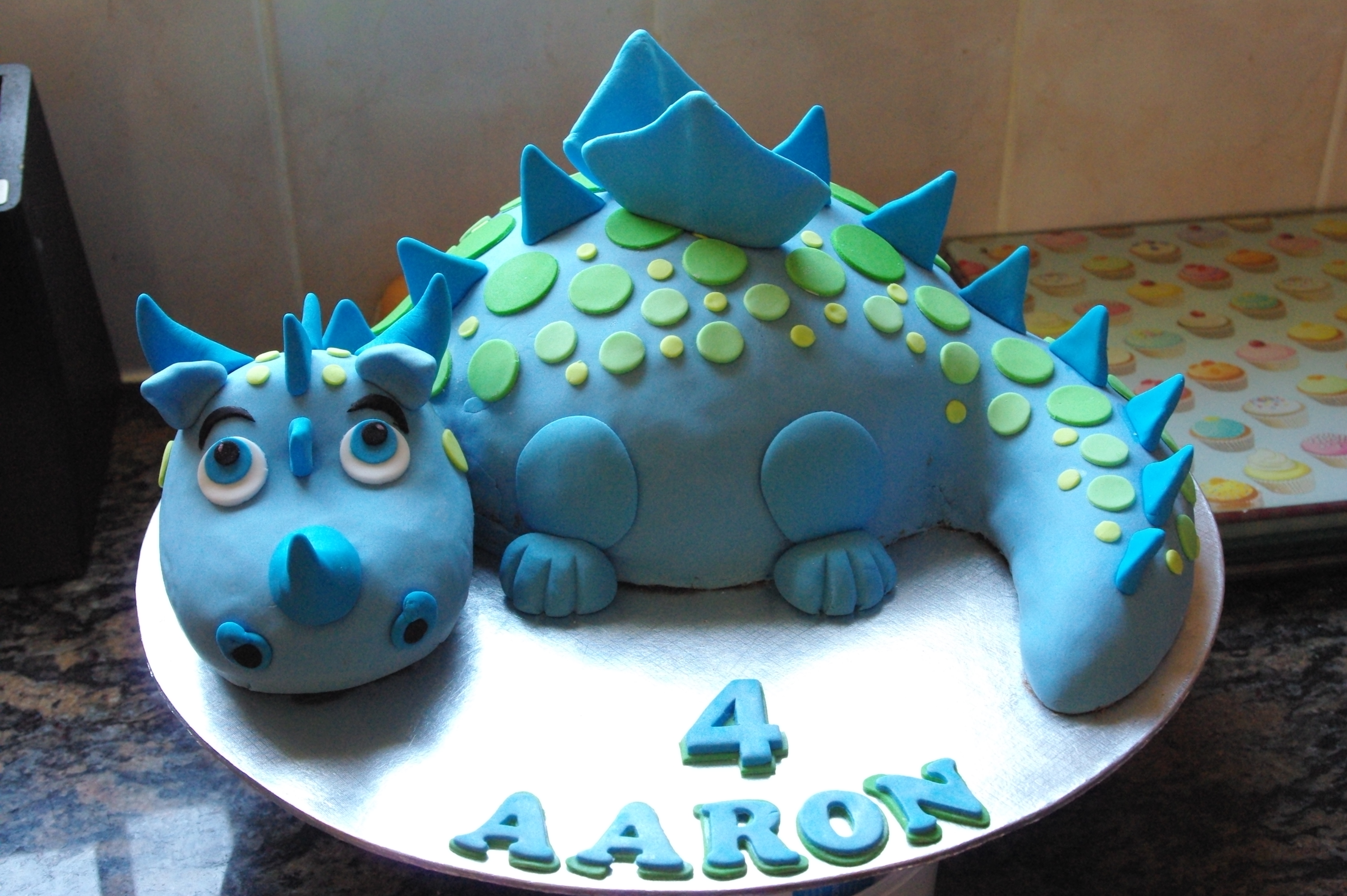 Baby Blue Dragon Cake Ideas And Designs