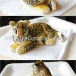 Cake artist, sugar artist, Vorna Valley, Midrand. sugar paste leopard, hand made, custom made
