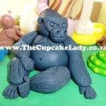 Cake artist, sugar artist, Vorna Valley, Midrand. hand made sugar paste jungle animals