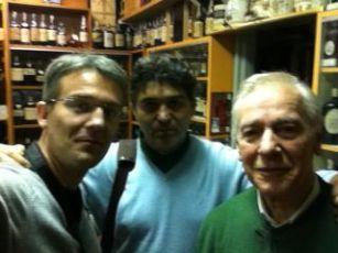 Emmanuel, Massimo e Giorgio