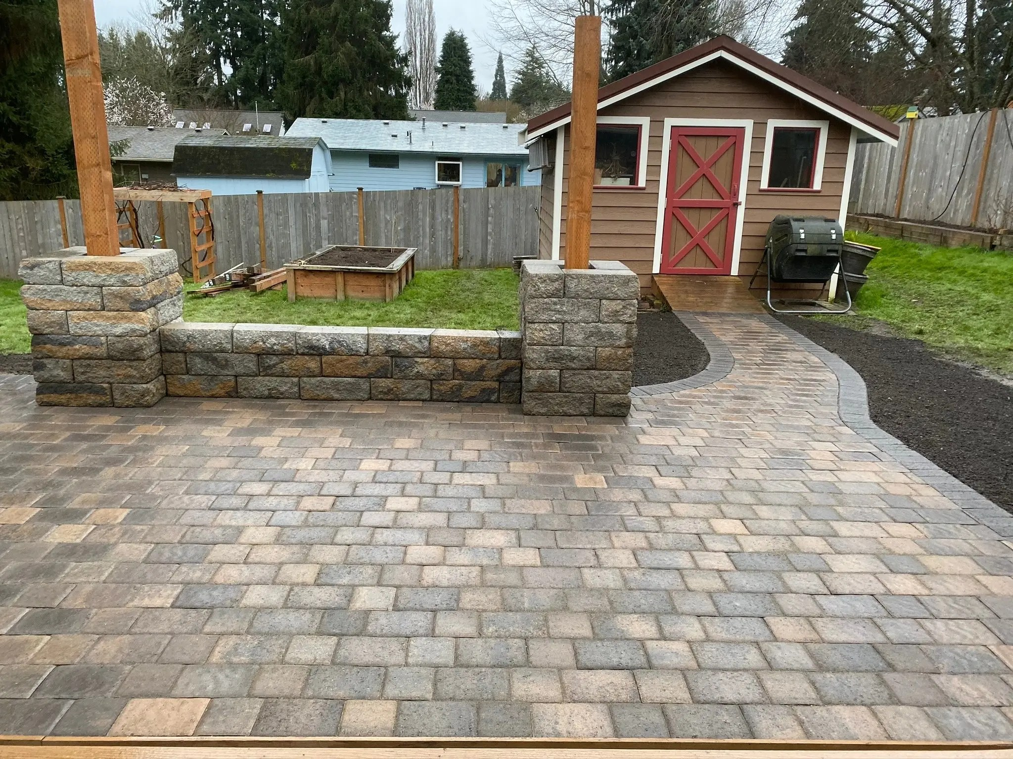 pavers seattle angel s landscaping