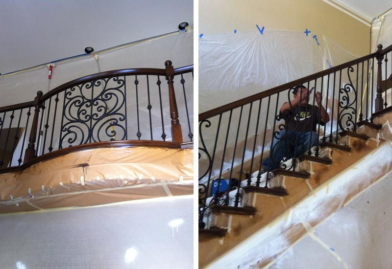 Ornamental Wrought Iron Staircase Railing Orange County Ca | New Stair Railing Cost | Staircase Ideas | Glass Railing | Staircase Design | Stair Parts | Wooden Stairs