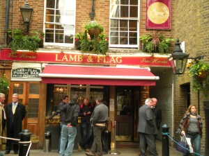 Lamb & Flag Pub, London