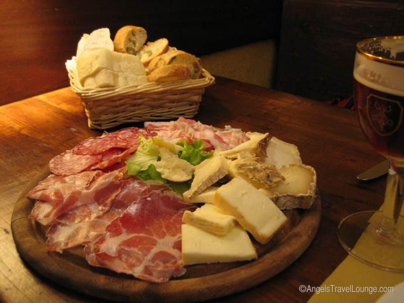 Antipasto in Bergamo