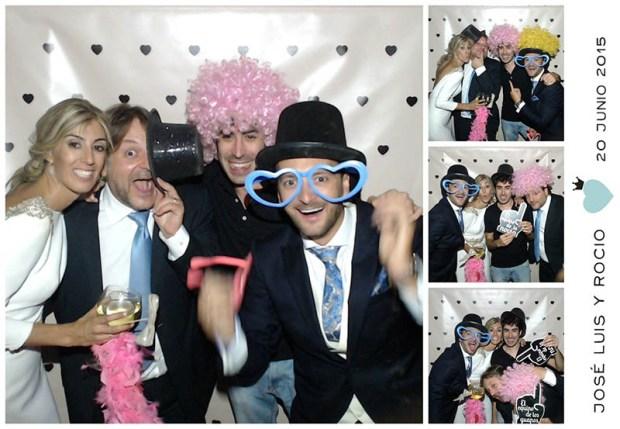 Rocío, José Luis, Alfon y yo