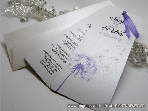 Wedding Bookmark Template Free