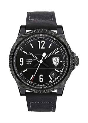 SCUDERIA FERRARI Mens Wrist Watch Model FORMULA ITALIA Made in Italy MPN 830272