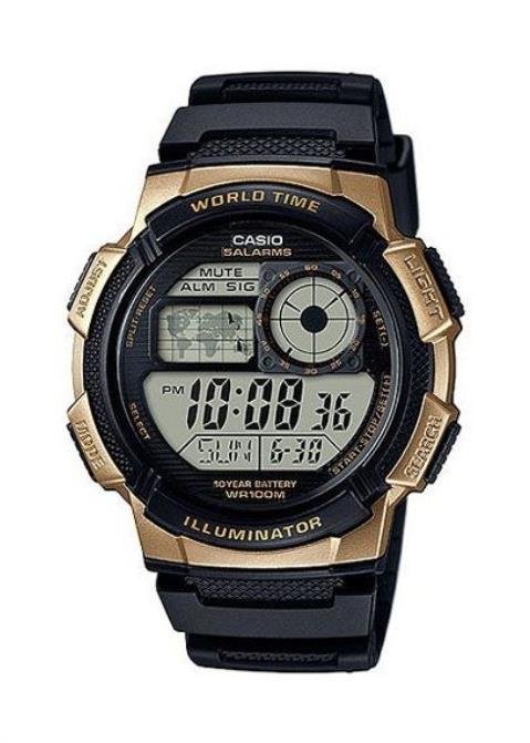 CASIO Mens Wrist Watch MPN AE-1000W-1A3