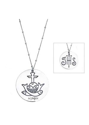 AMEN NECKLACE MODEL IHS MPN CLOSG 55MM