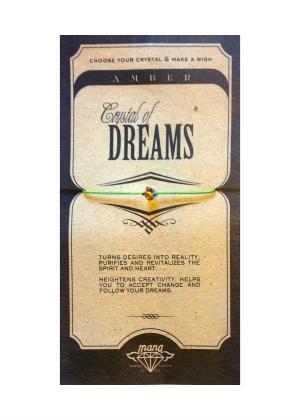 MANA MK JEWELLERY ITEM MODEL AMBER/DREAMS MPN MANAENGC01