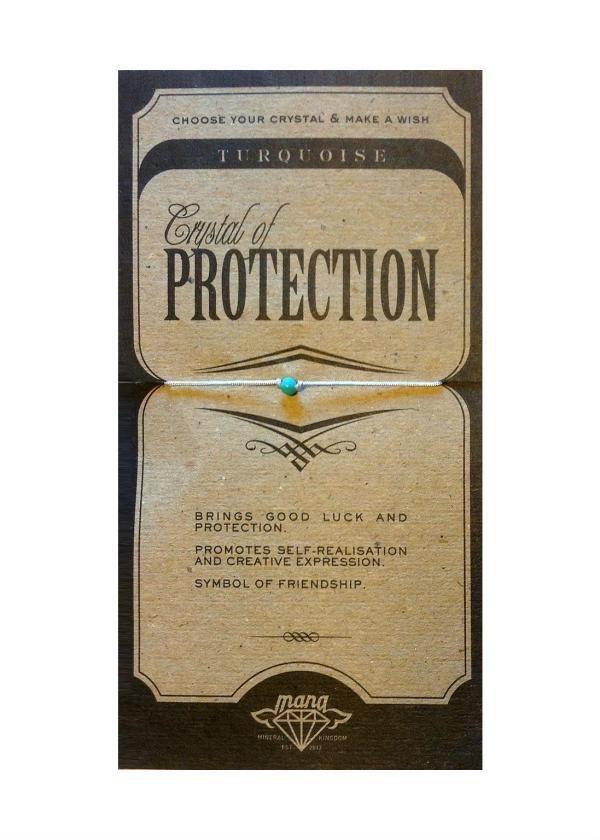 MANA MK JEWELLERY ITEM MODEL TURQUOISE/PROTECTION MPN MANAENGC02