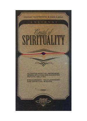 MANA MK JEWELLERY ITEM MODEL AMETHIST/SPIRITUALITY MPN MANAENGC12