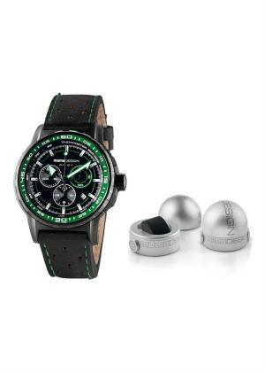 MOMO DESIGN Mens Wrist Watch Model PILOT PRO CHRONO QUARZO MPN MD2164BK-32