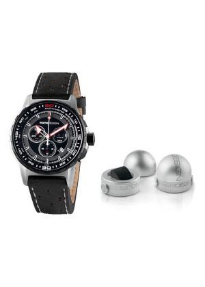 MOMO DESIGN Mens Wrist Watch Model PILOT PRO CHRONO QUARZO MPN MD2164SS-12