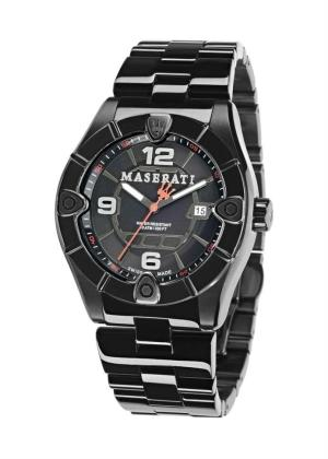 MASERATI Mens Wrist Watch Model MECCANICA LIMITED EDITION MPN R8853111001