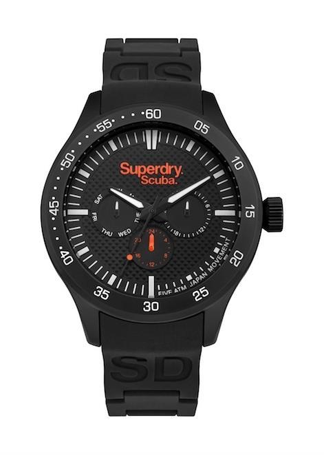 SUPERDRY Mens Wrist Watch Model SCUBA MPN SYG210BB