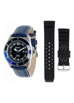 BREIL Unisex Wrist Watch Model OCEANO 2 Cinturini / 2 Straps MPN TW1425