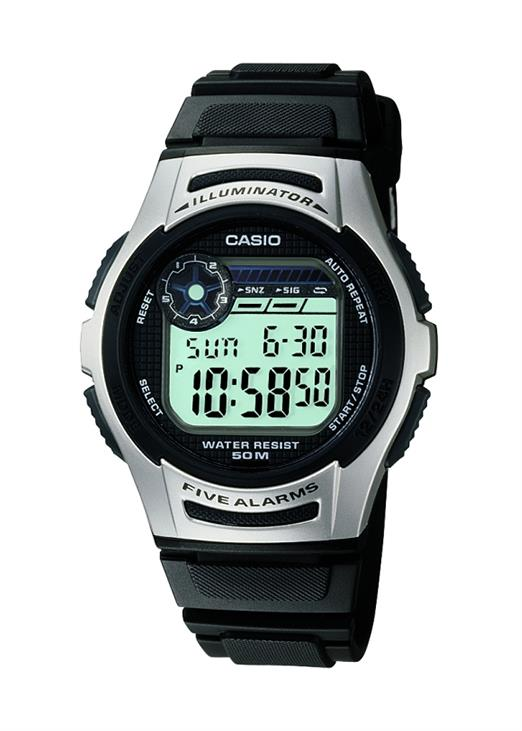 CASIO Mens Wrist Watch MPN W-213-1A