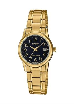 CASIO Ladies Wrist Watch MPN LTP-V002G-1B