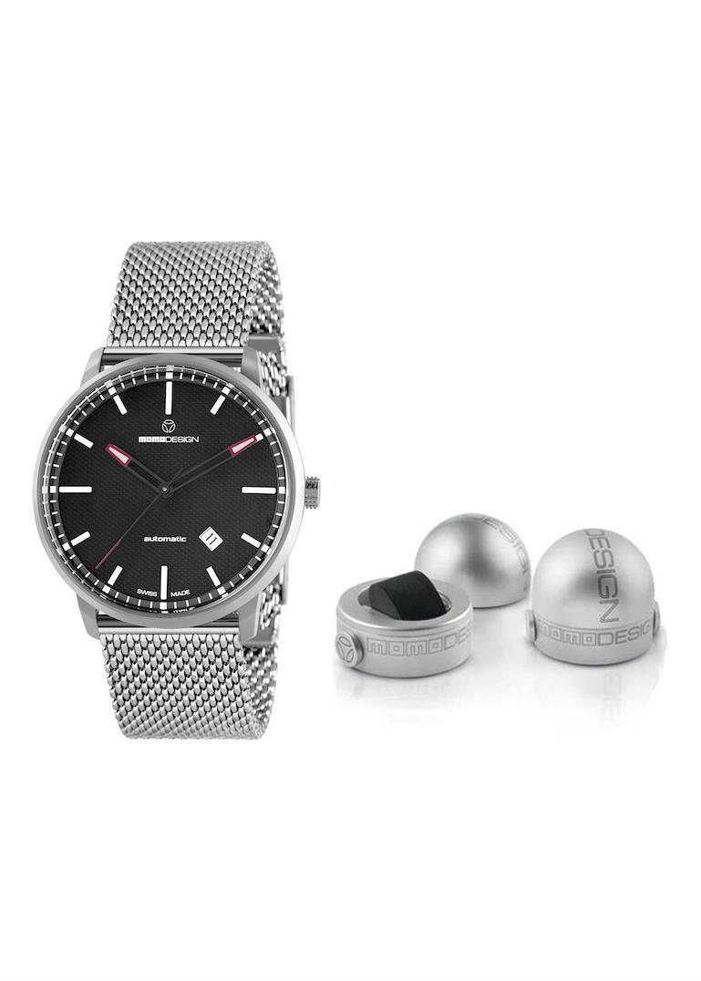 MOMO DESIGN Mens Wrist Watch Model ESSENZIALE AUTOMATIC MPN MD6004SS-10