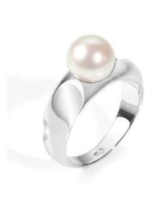 MORELLATO GIOIELLI RING MODEL PERLA MPN SXU17016 SIZE 016 CON PERLE COLTIVATE / CULTURED PEARLS