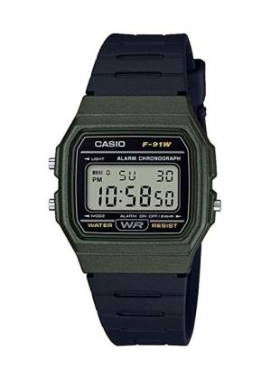 CASIO Unisex Wrist Watch MPN F-91WM-3A