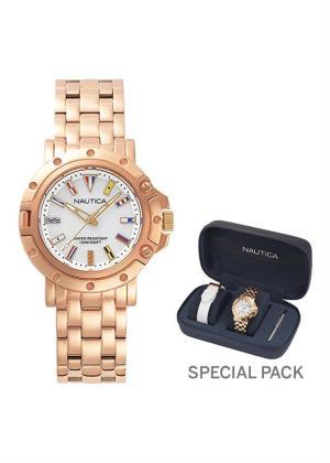 NAUTICA Ladies Wrist Watch Model PORTHOLE MPN Oblò MPN 2 straps, special packaging MPN NAPPRH006