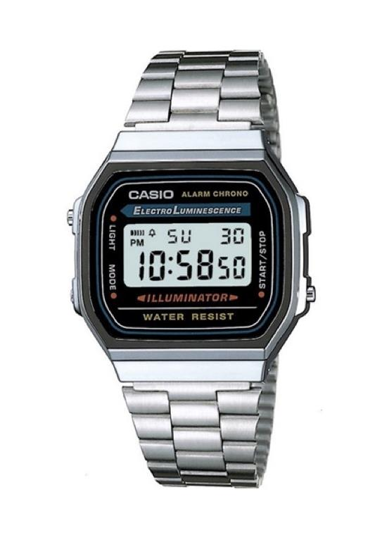 CASIO Unisex Wrist Watch A168WA-1A