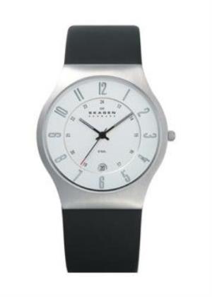 SKAGEN DENMARK Gents Wrist Watch Model STEEL 233XXLSLC