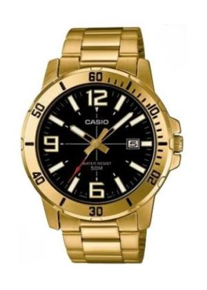 CASIO Gents Wrist Watch MTP-VD01G-1B
