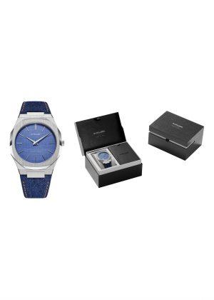 D1 MILANO Gents Wrist Watch Model EVEGREEN DENIM D1-UTDJ01