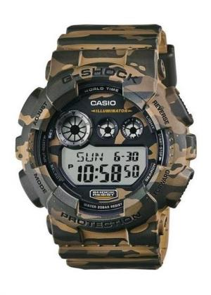 CASIO Gents Wrist Watch GD-120CM-5DR