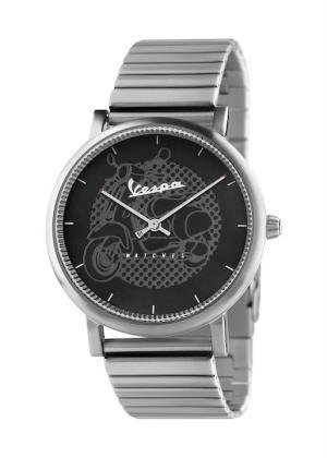 VESPA Gents Wrist Watch Model CLASSY VA-CL01-SS-23BK-CM