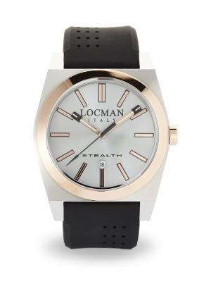 LOCMAN Gents Wrist Watch Model STEALTH 02010RAGF5N0SIK