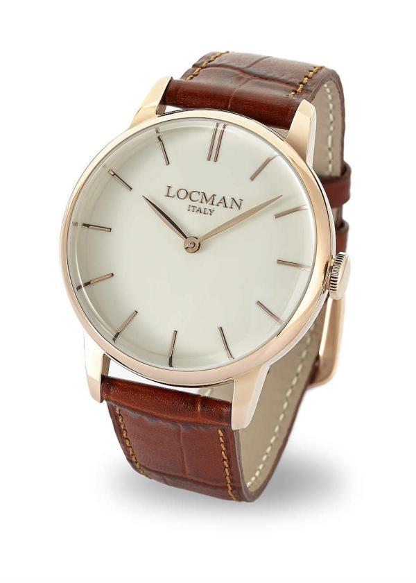 LOCMAN Gents Wrist Watch Model 1960 COLLECTION 0251V10-RGAVRGPN