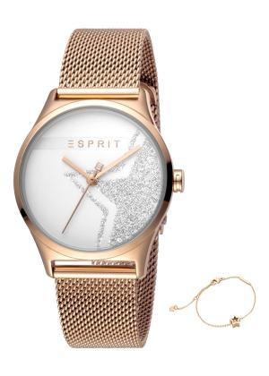 ESPRIT Women Wrist Watch Model Gift Set Bracelet ES1L034M0285