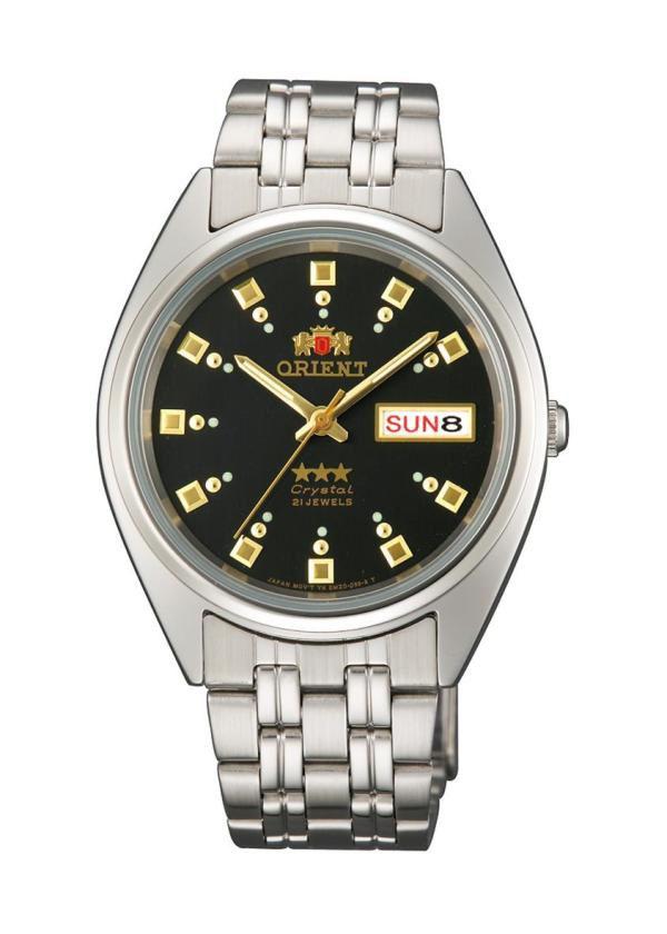 ORIENT Unisex Wrist Watch Model 3 Stars Automatic FAB00009B9