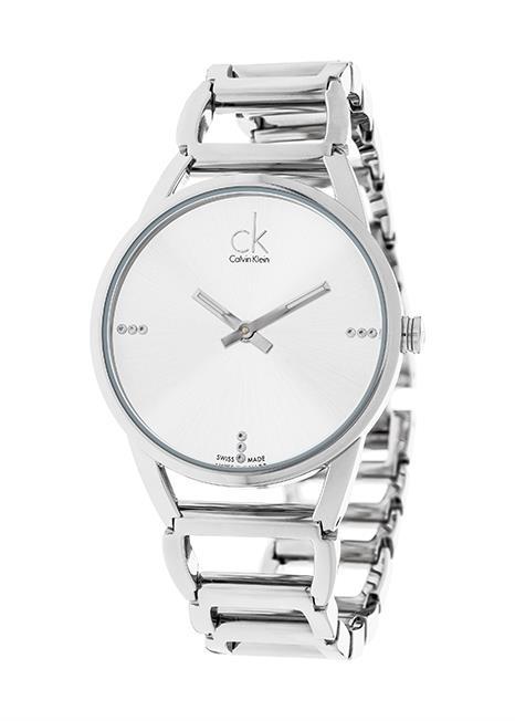 CK CALVIN KLEIN Ladies Wrist Watch Model STATELY - Diamonds K3G2312W