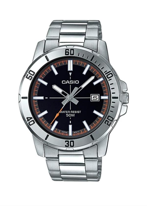 CASIO Gents Wrist Watch MTP-VD01D-1E2