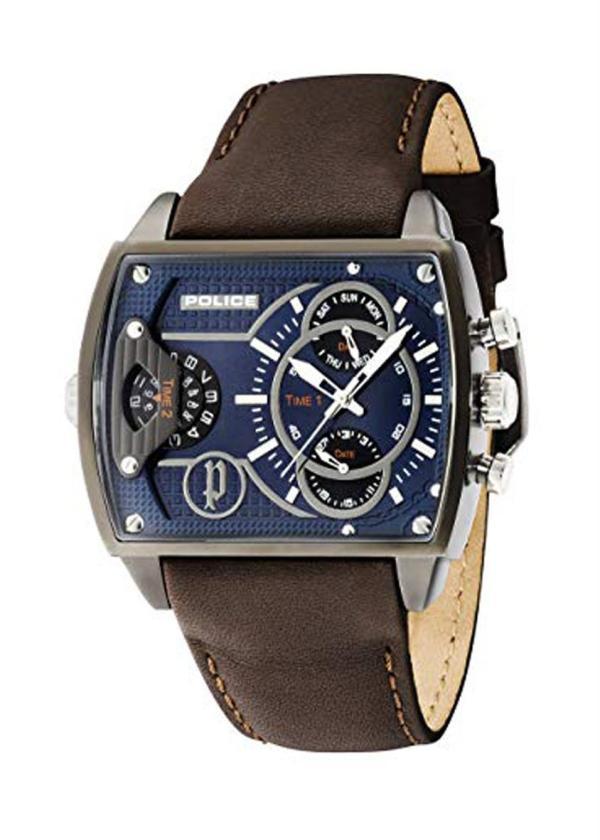 POLICE Mens Wrist Watch Model Scorpion PL.14698JSU/03