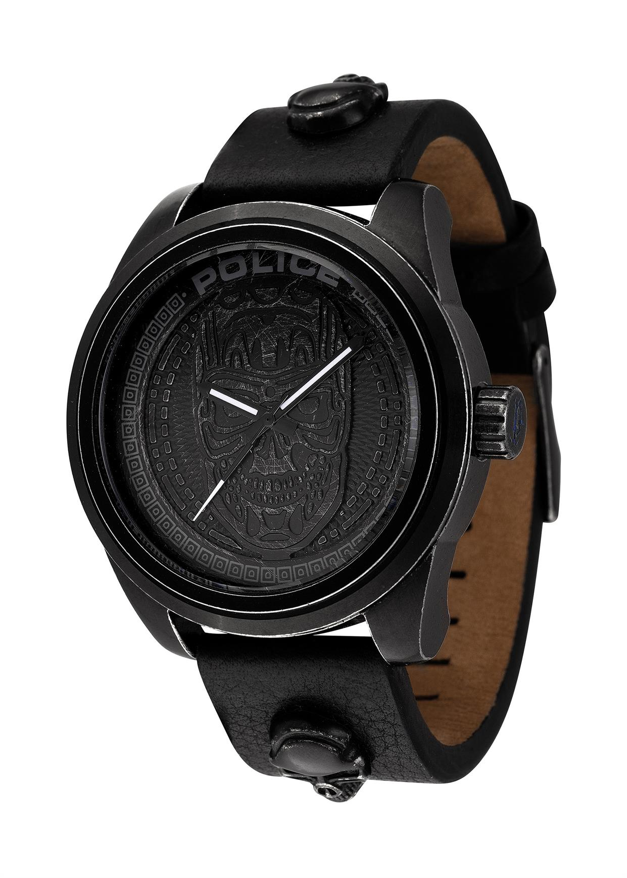 POLICE Mens Wrist Watch Model Apocalypse PL.14798JSQB/02