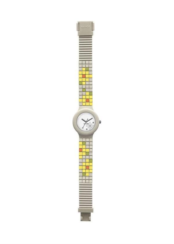 HIP HOP Wrist Watch Model MOSAIC HWU0454