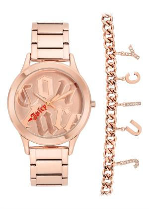 JUICY COUTURE Womens Wrist Watch JC/1146RGST