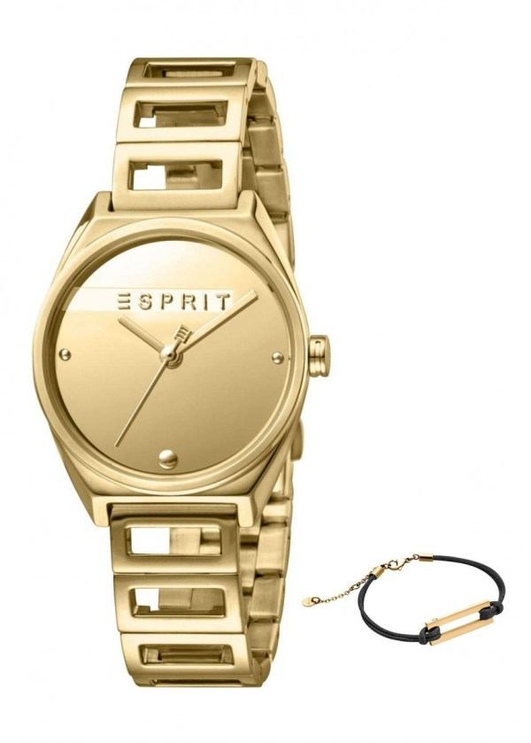 ESPRIT Womens Wrist Watch Model Gift Set Bracelet ES1L058M0025
