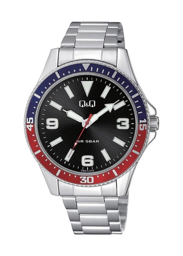 Q&Q Gents Wrist Watch QB64J205Y