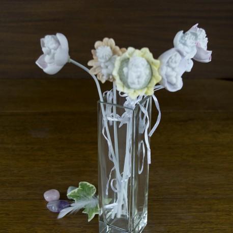 bouquet de fleurs d anges objet anges objets anges decoration ange