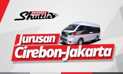 Jadwal Shuttle Cirebon Jakarta Bhinneka Dan Xtrans Angga Dwi Perdana